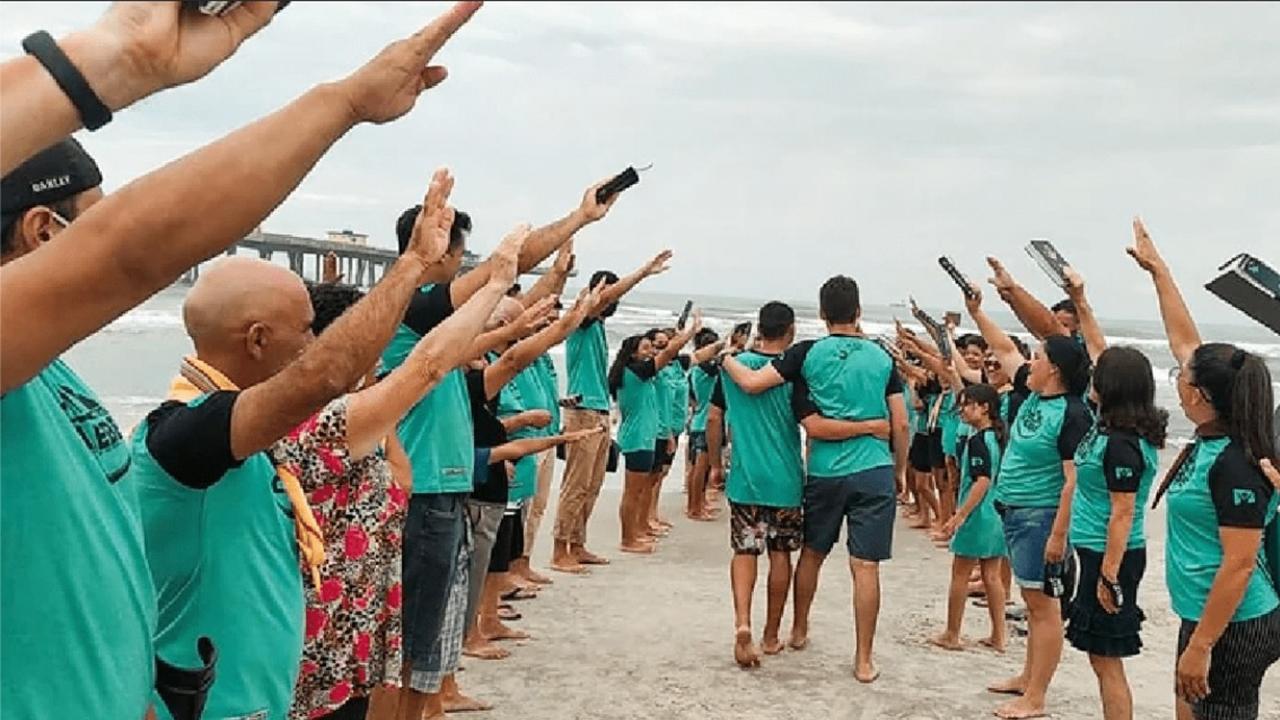 En este momento estás viendo Los jóvenes llevan a más de 1.000 personas al bautismo en solo un mes, en el sureste