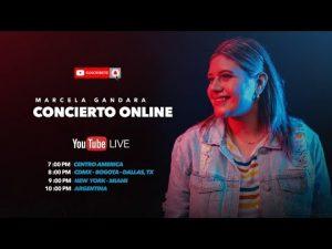 Lee más sobre el artículo Marcela Gandara en Concierto OnLine